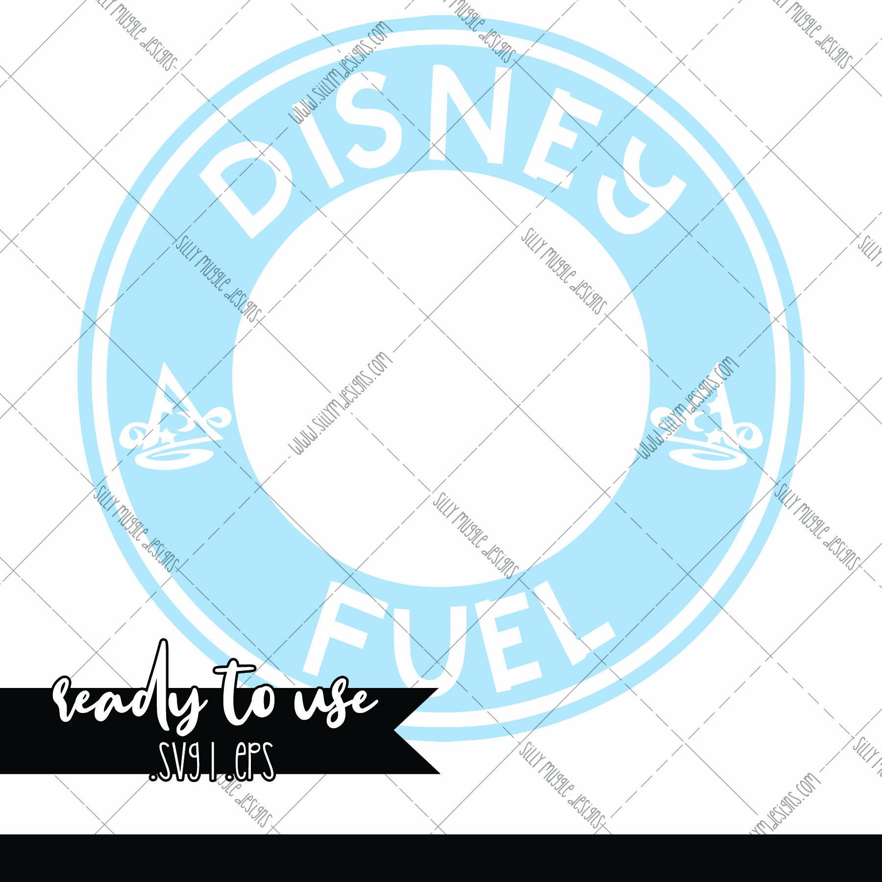 Disney Fuel Svg Starbucks Logo Decal Add On