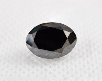 April Birthstone For Jewelry 1 Piece 8.0X6.0 MM Natural Loose Black Diamond Octagon Shape Loose Solitaire Black Diamond Sale