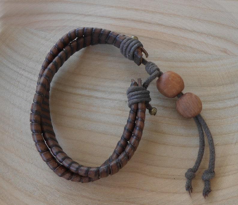 Name leather bracelet for men BFF bangle
