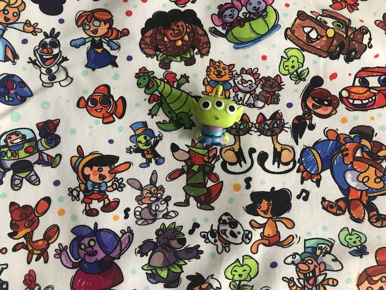 Jellypens 8x14 Cotton Lycra Tumbler Fabric Cuts: b.s