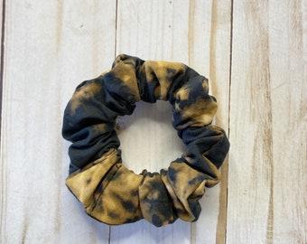 Reverse TieDye Scrunchie, scrunchie, hair scrunchie, scrunchie, hair tie, scrunchie for hair, 80s scrunchie, 90s scrunchie, Tie Dye