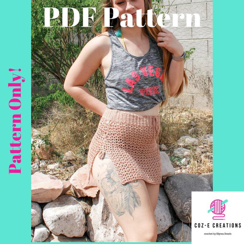 Pattern: The Mohave Cover Up Skirt Crochet pattern Crochet image 0