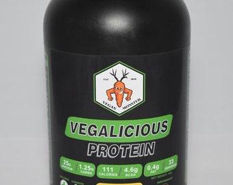 Vegan Monster High Protein Powder Vegalicious Muscle Repair