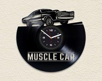 Muscle Car Clock Etsy
