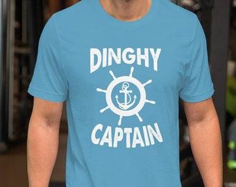 704628c883 Sailing Shirt, Dinghy Captain Funny Sailing Crew Short-Sleeve Unisex T-Shirt