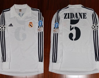cf884f3fb3d real madrid centenary jersey champions league final long sleeve zidane  zizou france