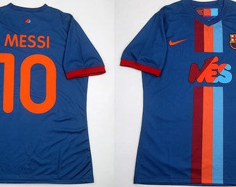 3e74c5ab9 fc barcelona 09 jersey shirt gamper special edition lionel messi version  player authentic