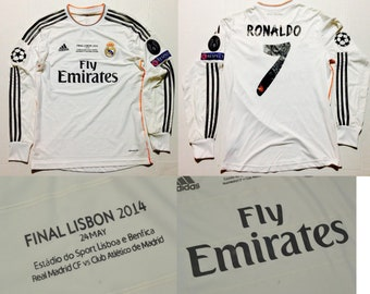38b5c0733 real madrid jersey champions league final long sleeve 13 14 cristiano  ronaldo ucl final shirt r.madrid