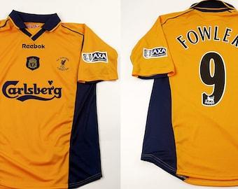 online store 3eb9d 2de64 Liverpool 2000 2001 jersey shirt 2001 FA CUP FINAL trikot ...