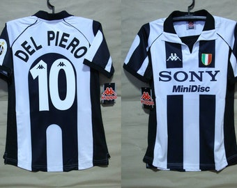 a3f628ed4 Juventus turin 1997 1998 jersey shirt del piero mesh home alessandro serie  a trikot juve maglia