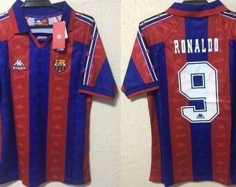 22118a55b fc barcelona 1996 1997 shirt jersey ronaldo nazario barca barça catalunya