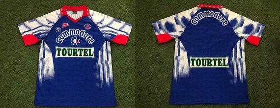 paris saint germain jersey 1992 1993 home paris saint… - Gem