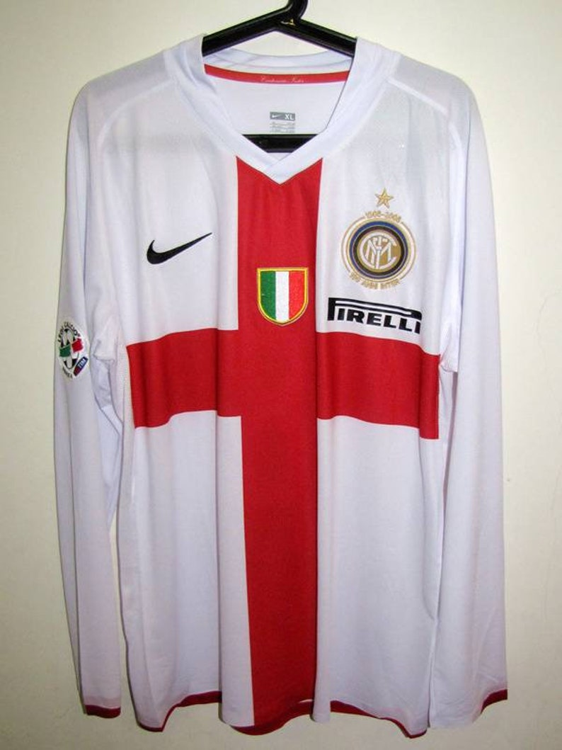 finest selection 7965b f8a49 inter milan centenary long sleeve jersey away serie a style ibrahimovic  intenazionale milan centenary 100th version player shirt