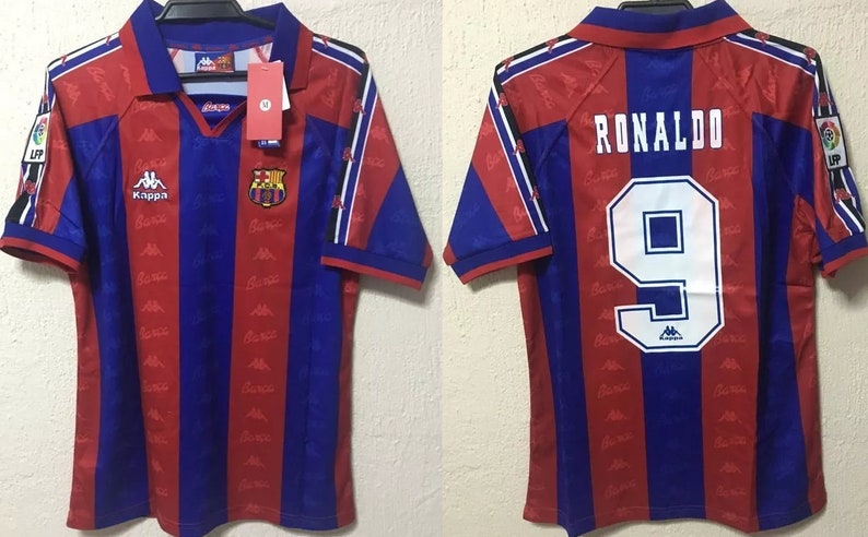 separation shoes 8d0f2 d03bb fc barcelona 1996 1997 shirt jersey ronaldo nazario barca barça catalunya
