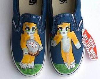 Cat Shoes Etsy
