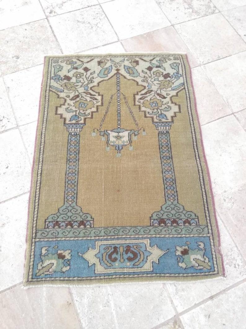small turkish rug decorative small turkish carpet rugs handmade small rug small oushak rug Vintage oushak rug 2/'4x3/'5 feet small rug