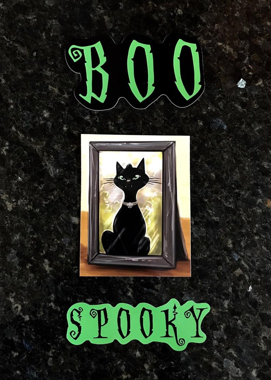 Spooky Sarah Spiderlegs  Stickers image 0