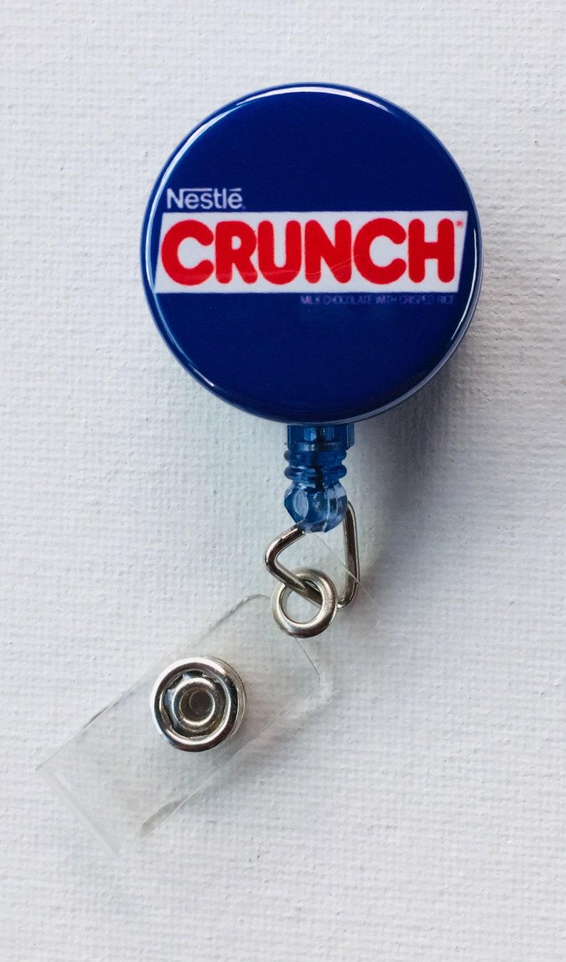 Crunch Retractable BadgeID Holders