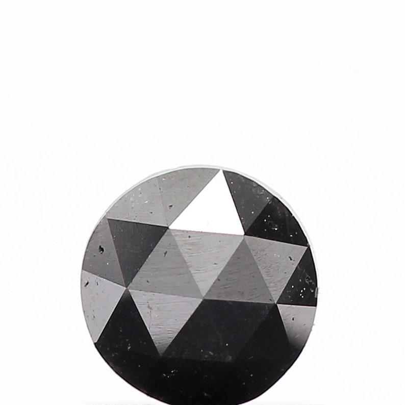 Natural Diamond Natural Black Color Round Rose Cut Diamond 0.36 Carat Natural Loose Diamond Natural Rose Cut Diamond Wholesale Diamond