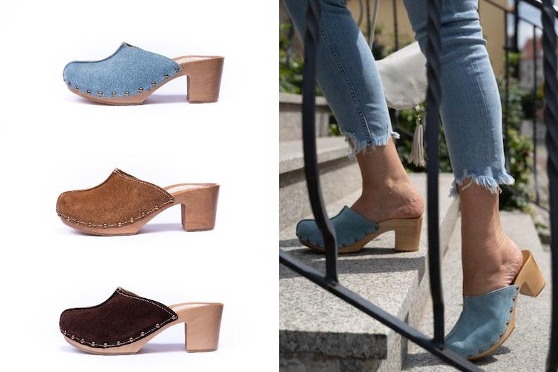 Filippo Leather ballerinas blue | Ballerina heels, Women