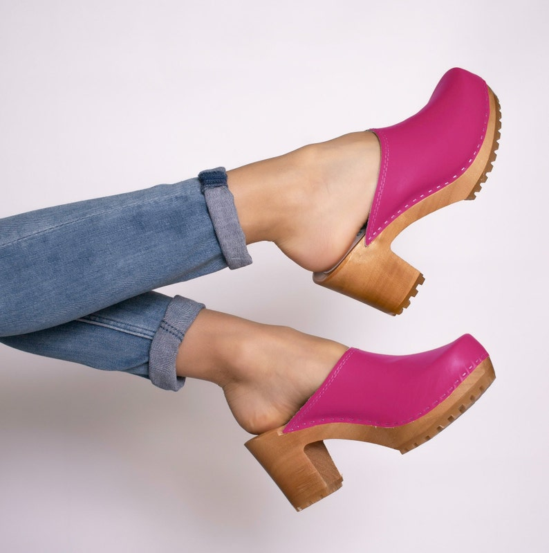 4a837f7c7d93a Swedish clogs,Heel shoes,Women clogs,Leather shoes,Clogs women,Heel women  clogs,Leather women shoes,Leather women sandals,Summer women shoes