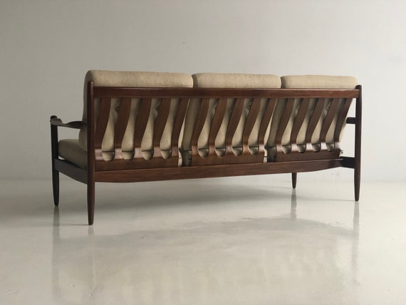 Surprising Vintage Danish Sofa 3 Armchairs Set 60 Lamtechconsult Wood Chair Design Ideas Lamtechconsultcom