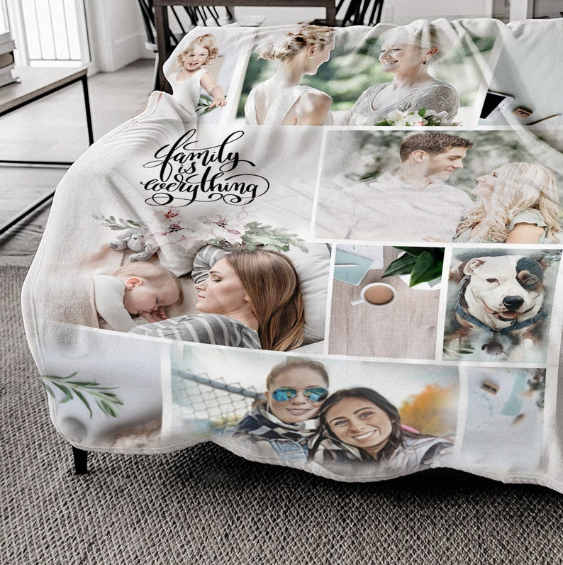 personalized blanket for adults home decor personalized photo image 0