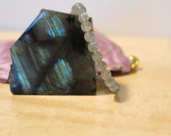 Labradorite Bracelet 6mm or 8mm Beads