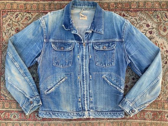 60s Wrangler Blue Bells Sanforized jacket - image 1