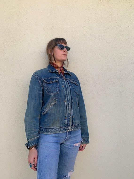 60s Wrangler Blue Bells Sanforized jacket - image 10