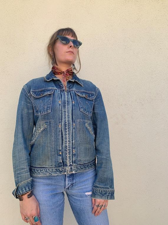 60s Wrangler Blue Bells Sanforized jacket - image 2