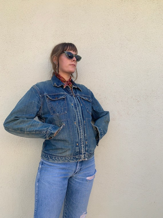 60s Wrangler Blue Bells Sanforized jacket - image 9