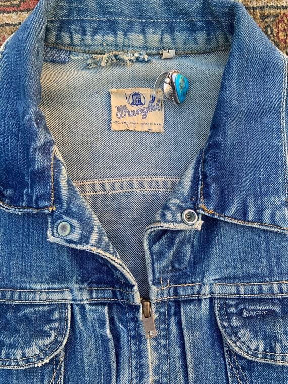 60s Wrangler Blue Bells Sanforized jacket - image 5