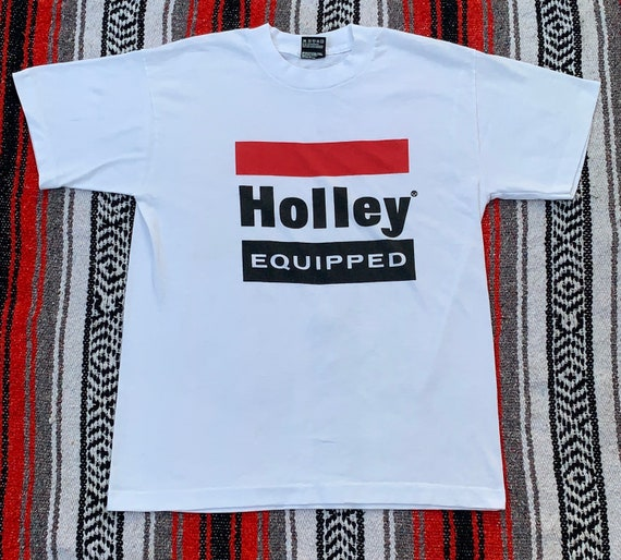 Vintage Holley Equipped white tee