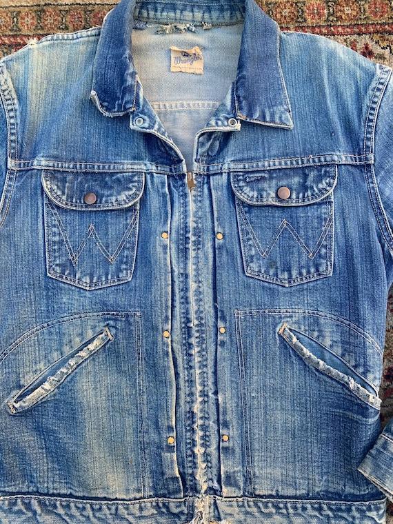60s Wrangler Blue Bells Sanforized jacket - image 4