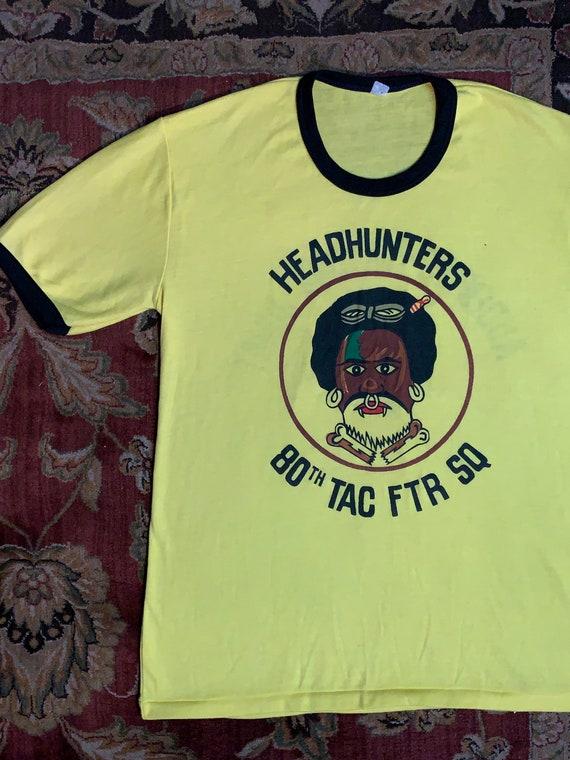 Vintage Headhunters Squadron ringer tee