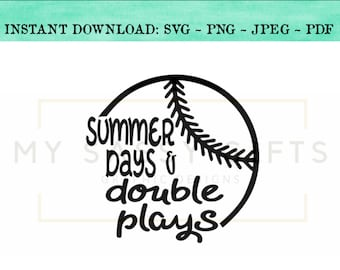 5ee546e565b6 Summer days and double plays svg