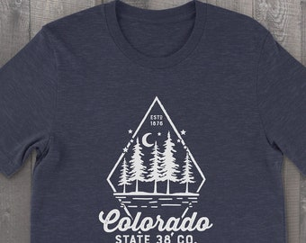 Colorado Night Sky Unisex T-shirt