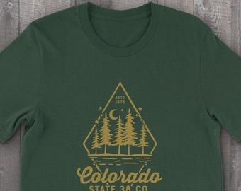 Colorado Mountain Forest T-Shirt