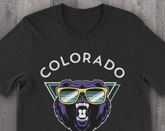 Colorado Unisex Summer Bear T-Shirt