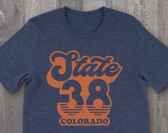Retro Colorado Unisex T-shirt