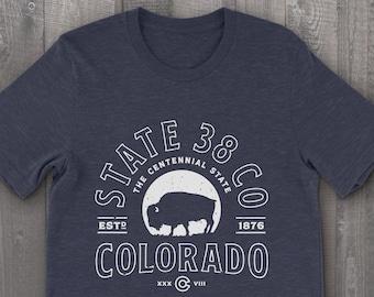 Colorado Bison Vintage T-Shirt