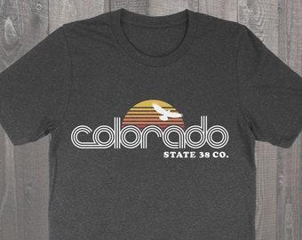 Retro Colorado Unisex Tee