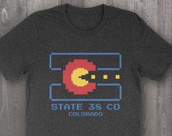 Retro 80s Colorado State 38 T-Shirt