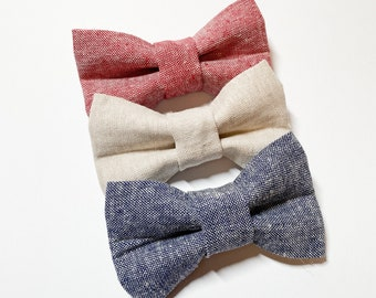 Boys Bow Tie Linens, Baby Bow Tie, Baby Gift