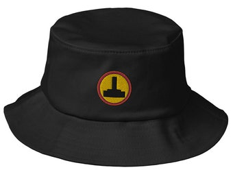 Joystick Retro Gaming Old School Bucket Hat