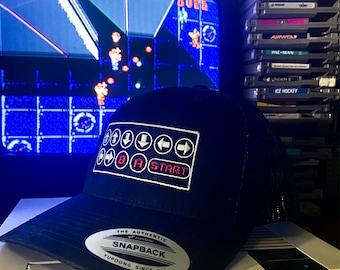 The High Score Konami Code Video Game Trucker Cap