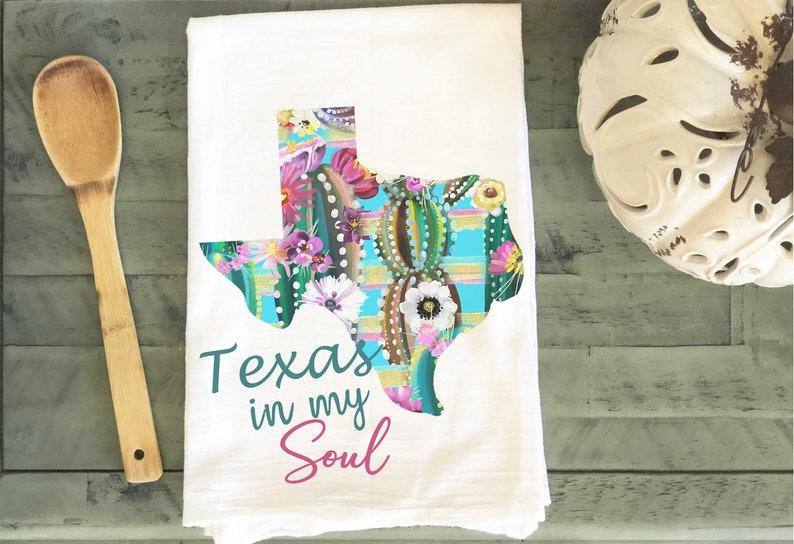 Texas Flour Sack Towel image 0