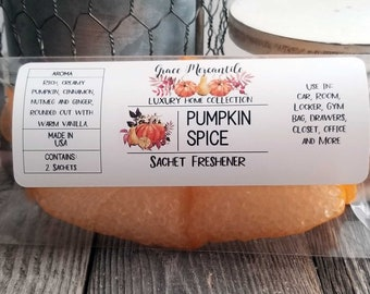 Pumpkin Spice Sachet Air Freshener