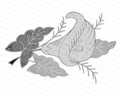 Victorian Calla Lily Design | Vintage Antique Arum Lily Vector Clipart SVG PNG JPG | Vintage Flower, Floral Clip Art Instant Download